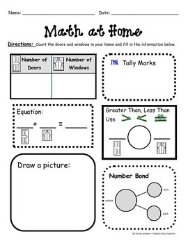Homework December Monthly in Spanish and English