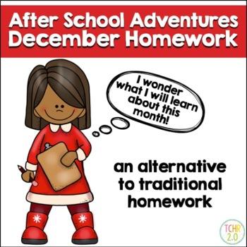 December Homework After School Adventures
