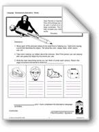 Homework: Descriptive Words, Sentences, Riddles, and Figur