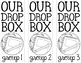 Homework Drop Box Labels