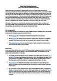 Homework/Extension guide for Robert Frost