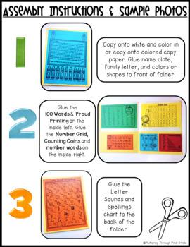 Homework Folder Editable - Ink Friendly