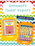 Homework Folder Helper