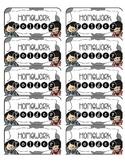 Homework Folder Label