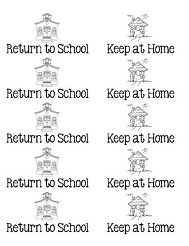 Homework Folder Labels