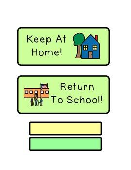 Homework Folder Labels!