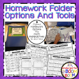 Homework Folder Options K/1