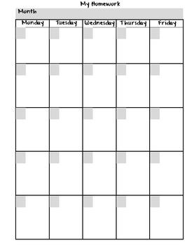 Homework Folder for Olders Editable - Peace Theme {Peace, Love, Learn}