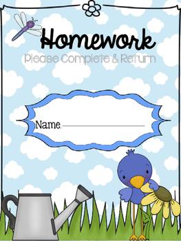 Homework Folders