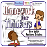 Homework For Thinkers - Problem-Solving Printables