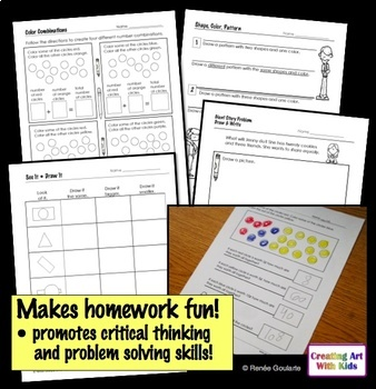 Homework For Thinkers - Problem-Solving Printables