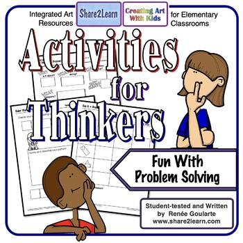 Printables Homework For Thinkers - Problem-Solving Fun