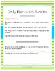 Homework Guide and Checklist