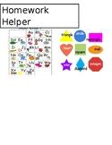 Homework Helper Chart