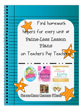 Homework Helper- Division Freebie