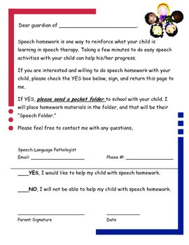 Homework Helper Interest and Tracking Forms