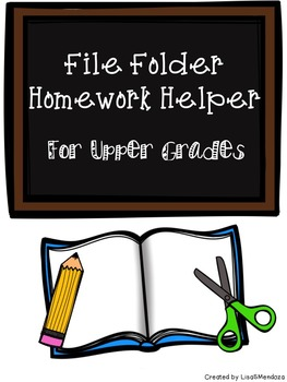 Homework Helper for Upper Grades