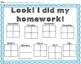 Homework Helpers: {Motivational sticker charts for homework}