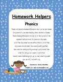 Homework Helpers - Phonics