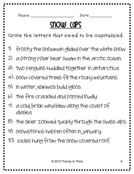Homework Helpers: Winter Edition