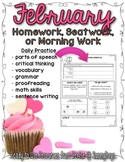 Homework Helpers for February