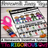 Homework Hero Badges and Certificates