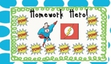 Homework Hero Punch Cards