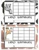 Homework Incentive Charts-Animal Print