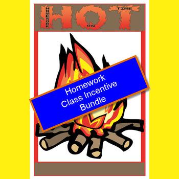 Homework Incentive Program - HOT (Homework On Time) Bundle