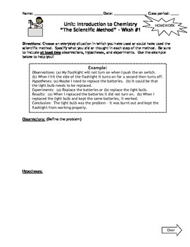 Printables Introduction To Chemistry Worksheet Answers homework introduction to chemistry worksheets by msrazz set of 7