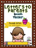 Homework Letter Spanish