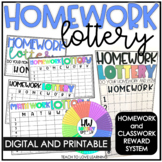 Class Work and Homework Reward System┃Distance Learning