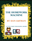 Homework Machine - Novel Study - Book club, quizzes, const