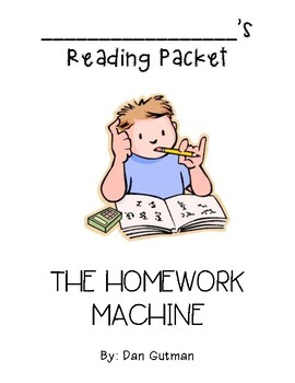Homework Machine Questions and Vocabulary