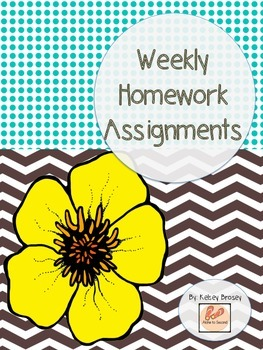 Homework Materials