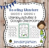 Reading Wonders for Kindergarten Unit 7 week 1