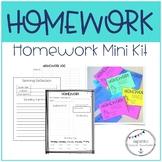 Homework Mini Kit