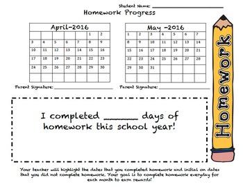 Homework Monitoring