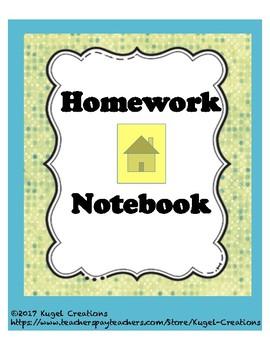 Homework Notebook