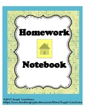 Homework Notebook