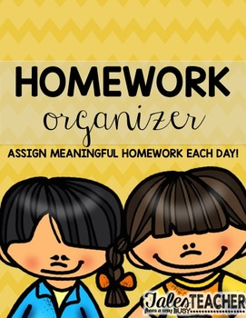Homework Organizer {Make HW Meaningful}