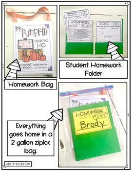 Fall Homework PLAY Activities by Kim Adsit and Adam Peterson