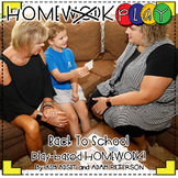 Homework PLAY Activities for Back to School by Kim Adsit a
