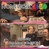 Homework PLAY Activities for February by Kim Adsit and Ada
