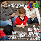 Homework PLAY Activities for January by Kim Adsit and Adam