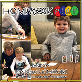 Homework PLAY Activities for March by Kim Adsit and Adam Peterson