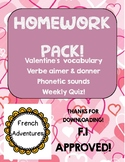 Homework Pack (Aimer and Donner)