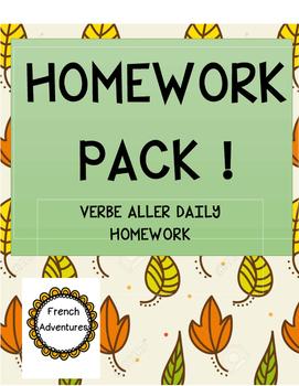 Homework Pack (aller)