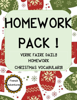 Homework Pack (faire)