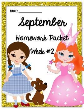 Homework Packet 2